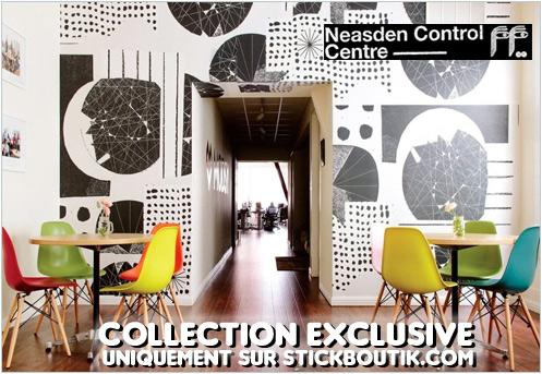 Stickers Muraux Design par NCC - Stickers exclusifs uniquement sur Stickboutik.com