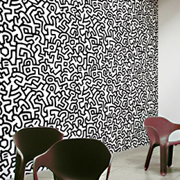 stickers pop art stickers muraux street art keith haring damien hirst upper playground joe. Black Bedroom Furniture Sets. Home Design Ideas