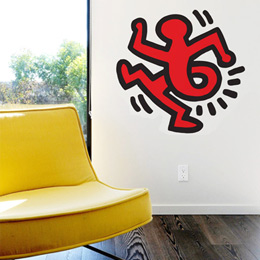 Sticker muraux Twisting Man par Keith Haring - Stickers NOUVEAUTES