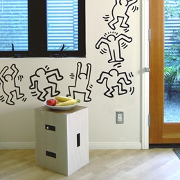 Sticker muraux Keith Haring par Keith Haring
