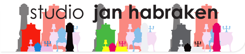 Studio Jan Habraken: Stickers muraux rétro-pop, design par Studio Jan Habraken. Adhésif mural décoratif. Collection exclusive et originale stickers déco rétro - stickers tendance - stickers d'antan - stickers rétro-pop